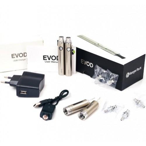 KANGERTECH EVOD Double Starter Kit 650mAh SILVER